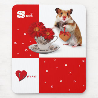 Sweet Love Fun Valentine s Day Gift Mousepad Mousepads