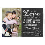 Sweet Love Holiday Photo Greeting Card