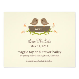 Sweet Love Save The Date Announcement Announcement