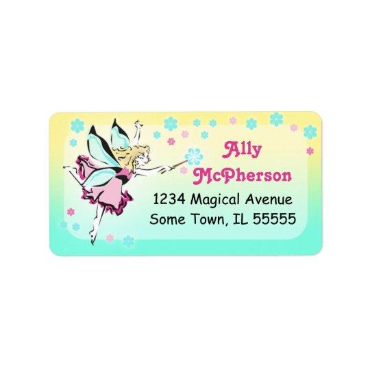 Sweet Magical Fairy Address Label