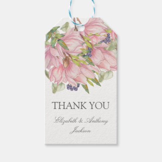 Sweet Magnolia Elegant Wedding Gift Tags
