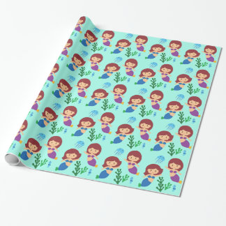 Sweet Mermaids Wrapping Paper