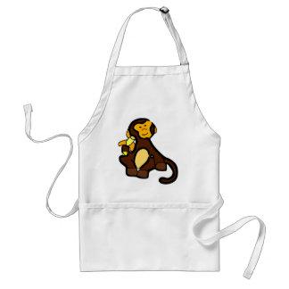 Sweet Monkey with Banana Standard Apron