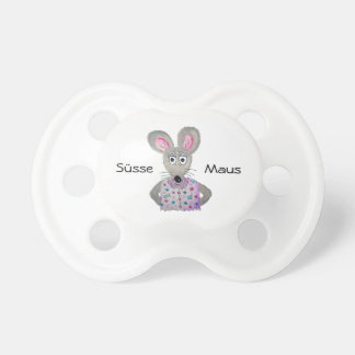 Sweet mouse baby pacifier