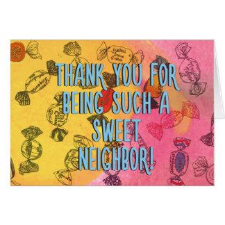 Sweet Neighbor Card