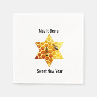 Sweet New Year Custom Paper Napkin