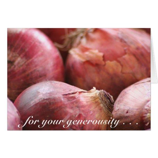 Sweet Onions card