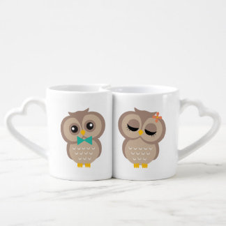Sweet Owl Couple Coffee Mug Set