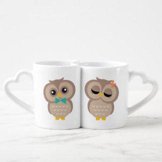 Sweet Owl Couple Couples Mug