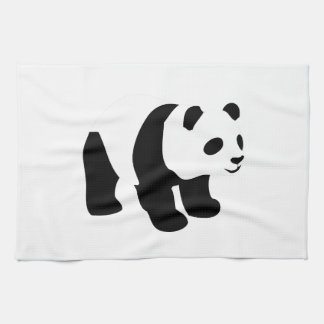 Sweet panda tea towel