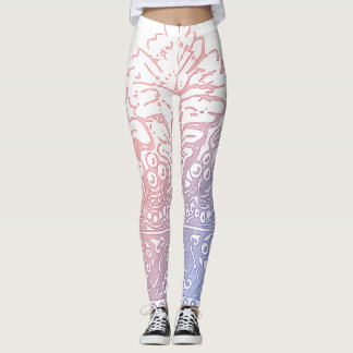 Sweet Pastel Crown Leggings