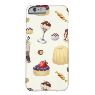 Sweet pattern with various desserts. barely there iPhone 6 case