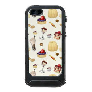 Sweet pattern with various desserts. incipio ATLAS ID™ iPhone 5 case