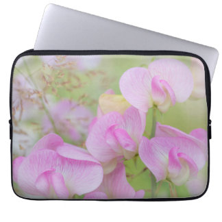 Sweet Pea Blossoms | Seabeck, WA Laptop Sleeve