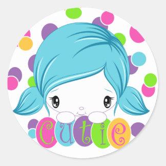 Sweet Pea Cutie sticker