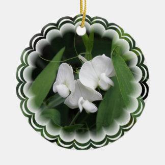 Sweet Pea Flower Ornament