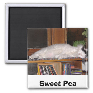 Sweet Pea Magnet