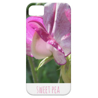 Sweet pea photographic phone case