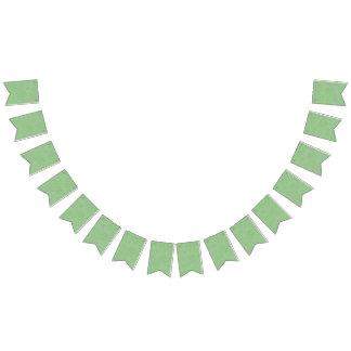 Sweet Pea Tea Birthday –Green Polka-Dot Bunting