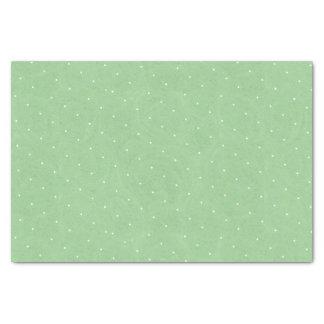 Sweet Pea Tea Birthday –Green Polka-Dot Tissue Paper