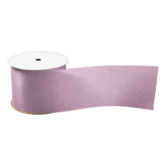 Sweet Pea Tea Birthday –Pink Polka-Dot Satin Ribbon