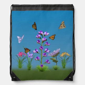 Sweet Peas and Butterflies Backpack