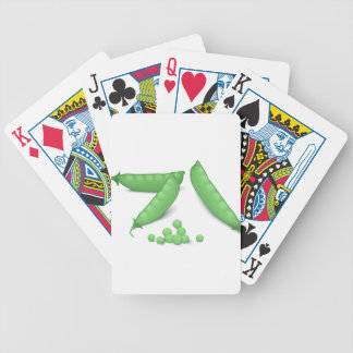 Sweet Peas Bicycle Playing Cards