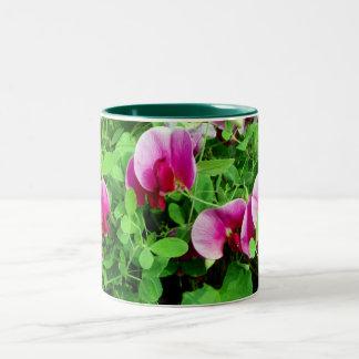 Sweet Peas design mug