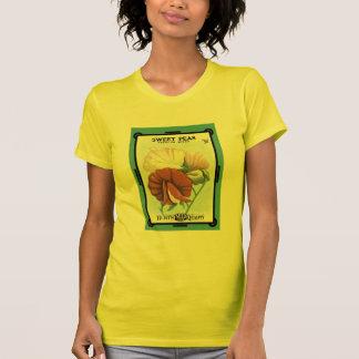 Sweet Peas Spencer Mixed Seed Packet Burt's Seeds T-Shirt