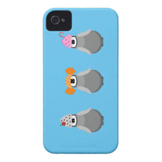 Sweet Penguins iPhone 4 Covers