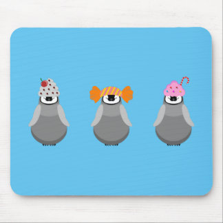 Sweet Penguins Mouse Pad