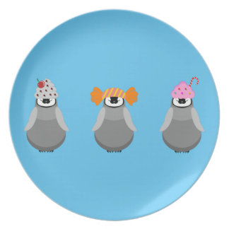 Sweet Penguins Plate