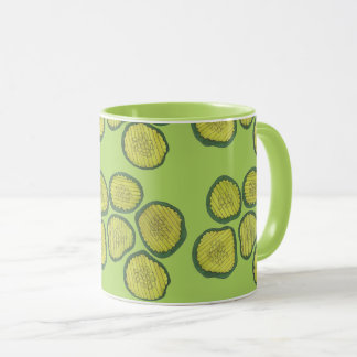 Sweet Pickle Chips Green Kosher Dill Pickle Chip Mug