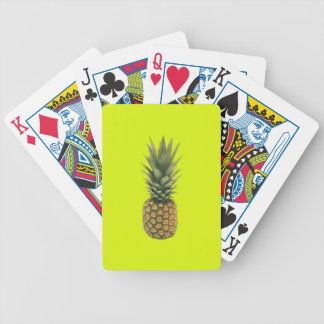 Sweet Pineapple Bicycle Playing Cards