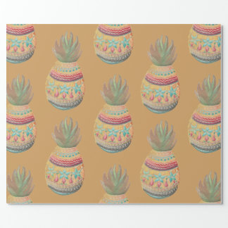 Sweet Pineapple Christmas Wrapping Wrapping Paper