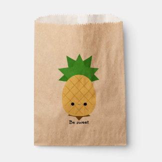 Sweet Pineapple Favor Bags Favour Bags