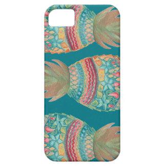Sweet Pineapple Iphone case In Aqua