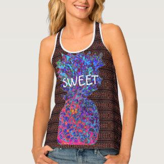 Sweet Pineapple Pattern Singlet