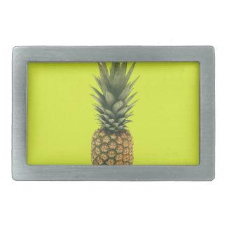 Sweet Pineapple Rectangular Belt Buckle