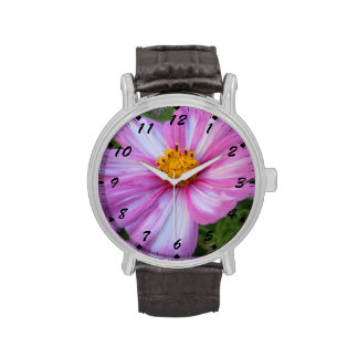 Sweet Pink and White Cosmo Wrist Watch