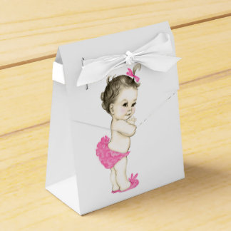 Sweet Pink Baby Girl Shower Favour Box