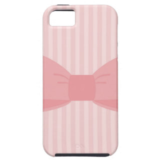 Sweet pink bow gift iPhone 5 covers