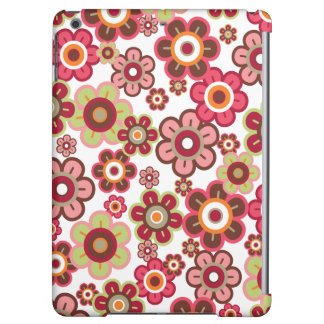 Sweet Pink Candy Daisies Flowers Girly Fun Casing iPad Air Cover