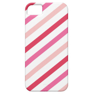 Sweet Pink Candy Stripes Pattern Valentine's Day iPhone 5 Case