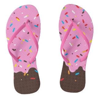 Sweet Pink Chocolate Treat Thongs