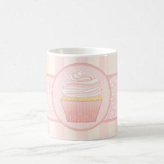 Sweet Pink Elegant Cupcake Coffee Mug