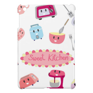 Sweet pink kitchen electricity and tool cute icon cover for the iPad mini