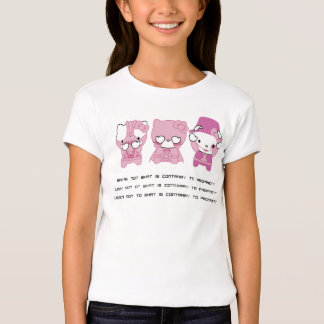 《Sweet Pink Kitty》kuroi-T Design T-Shirt