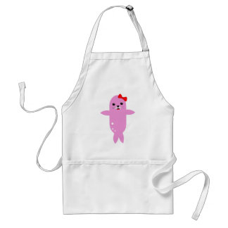 Sweet pink seal standard apron
