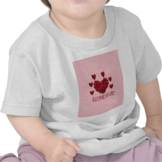 Sweet pink Valentine s Day of love Tee Shirt